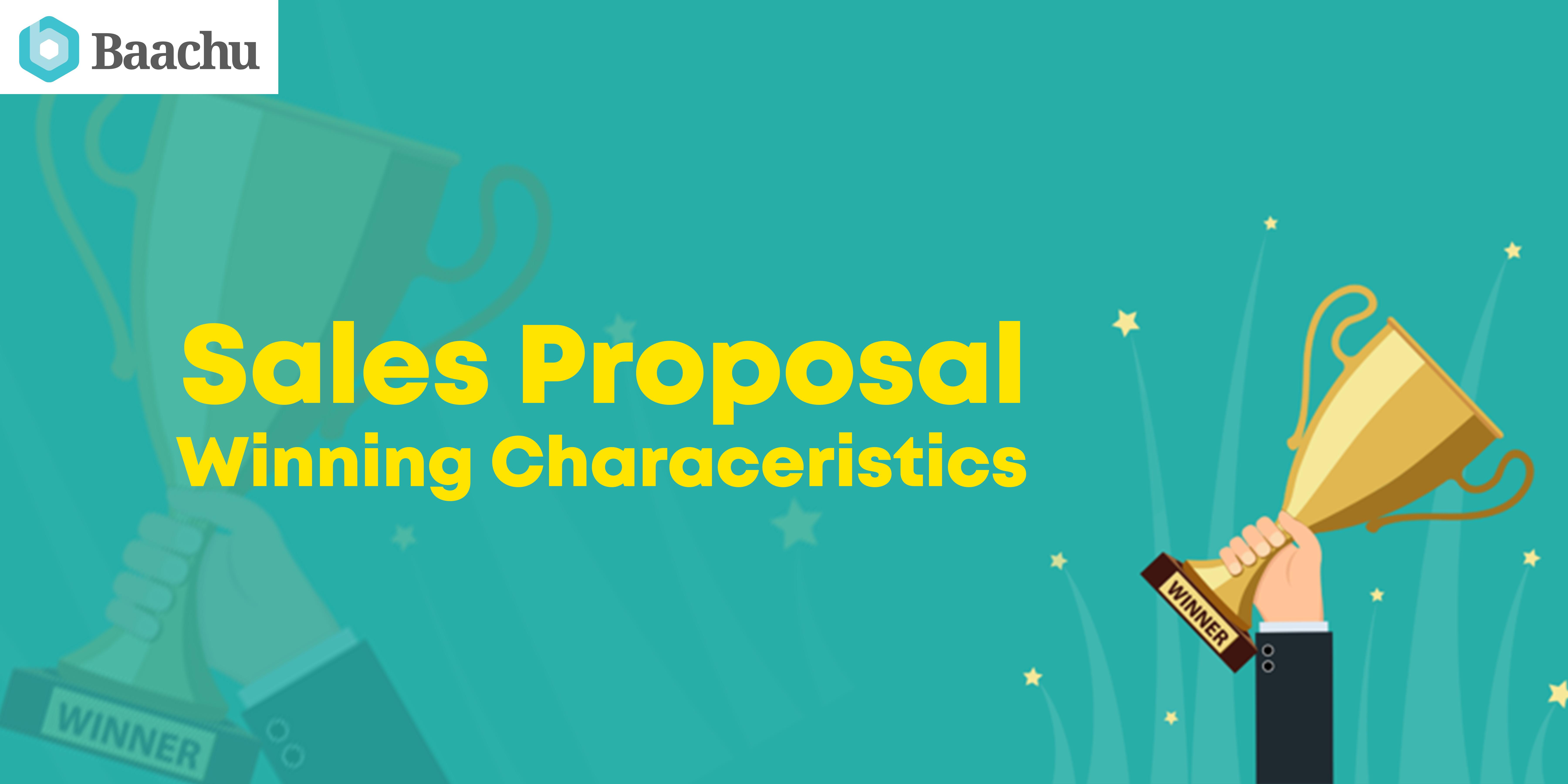 Sales Proposals – Winning Characteristics